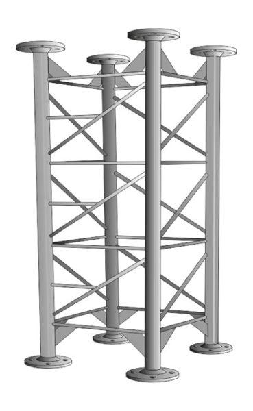 Příhradové stožáry řady PROFI MAXI