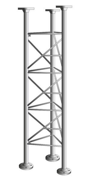 Příhradové stožáry řady PROFI