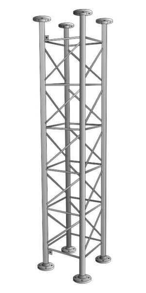 Příhradové stožáry řady STANDARD 4S